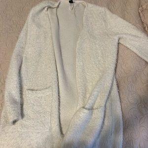 windsor white cardigan